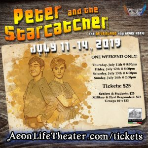 Peter and The Starcatcher @ Aeon Life Theater